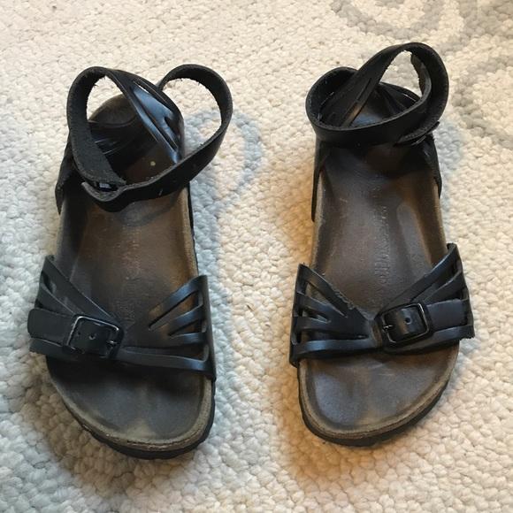37d675efc67 Birkenstock Shoes - Birkenstock Bali black ankle strap sandals